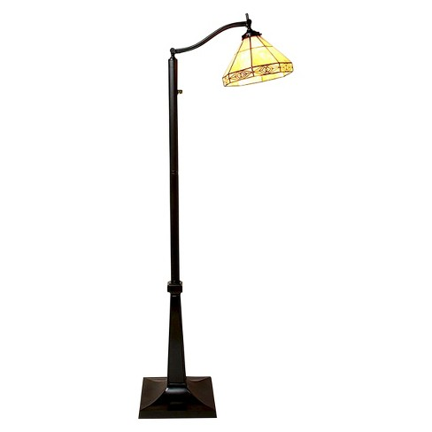 Tiffany-Style Mission Reading Lamp - image 1 of 1