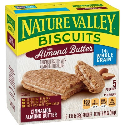 Nature Valley Almond Butter Biscuits - 5ct