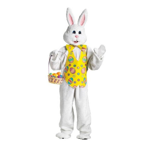 Adult Easter Bunny Mascot Costume - image 1 of 1