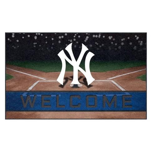 "MLB New York Yankees Crumb Rubber Door Mat 18""x30"" - image 1 of 1"