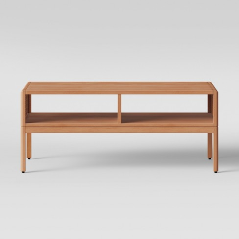 Minsmere Caned Coffee Table Natural Brown - Opalhouse™ - image 1 of 3