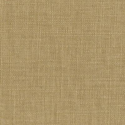 Twin Bella Nail Button Border Bed Tan Linen with Brass Nailbuttons - Cloth & Co.