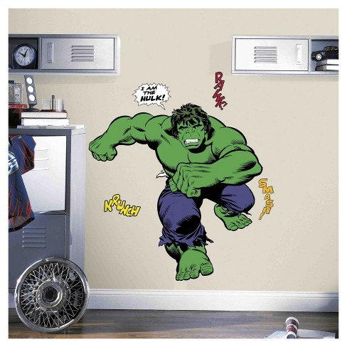Hulk Comic Wall Decals - image 1 of 1