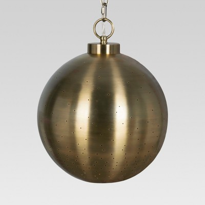 Brass Hanging Pendant Lamp - Threshold™