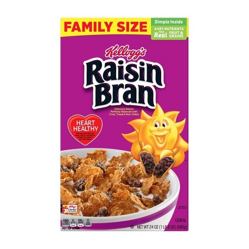 Raisin Bran Breakfast Cereal - 24oz - Kellogg's - image 1 of 7