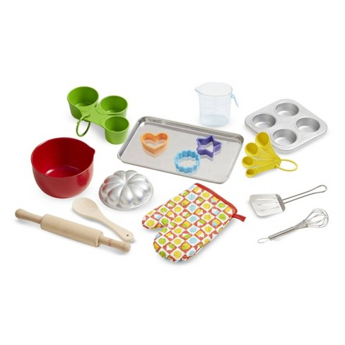 Melissa & Doug Baking Play Set (20pc) - Play Kitchen Accessories - image 1 of 4