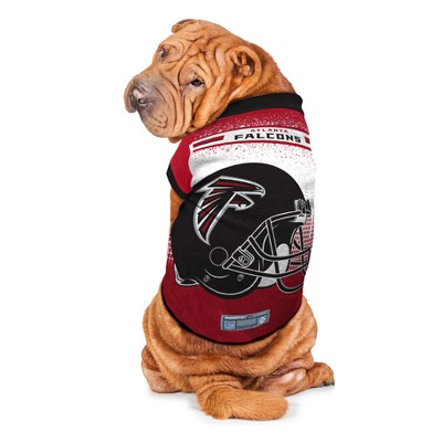 92a11484 Atlanta Falcons Little Earth Pet Performance Football T-Shirt - Red L