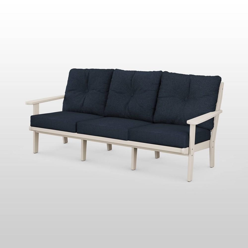 Lakeside Deep Seating Patio Sofa POLYWOOD