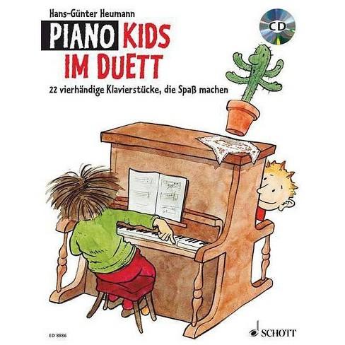 Piano Kids Duet - by  Hans-Gunter Heumann (Paperback) - image 1 of 1