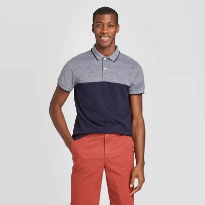 Men's Slim Fit Short Sleeve Pique Polo Shirt - Goodfellow & Co™