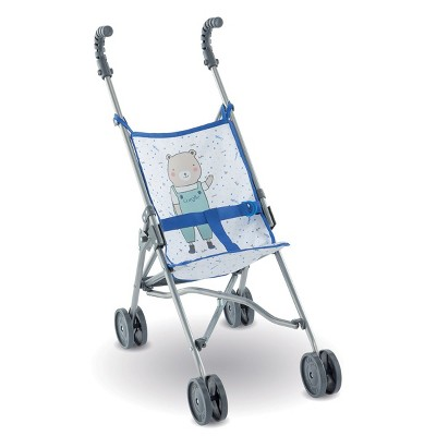 Corolle Umbrella Doll Stroller - Blue - Inspired by Stroller for Real Babies