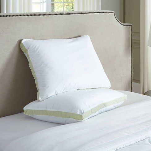 Medium Firm Quilted Sidewall Bed Pillow - Perfect Fit - image 1 of 1