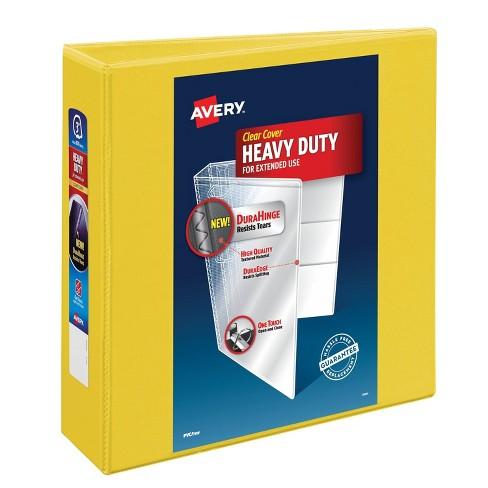 """Avery 670 Sheet 3"""" Ring Binder Yellow - image 1 of 1"""