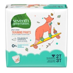 Seventh Generation Free & Clear Training Pants 2T-3T - 25ct