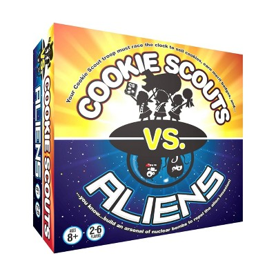 Cookie Scouts vs. Aliens Game