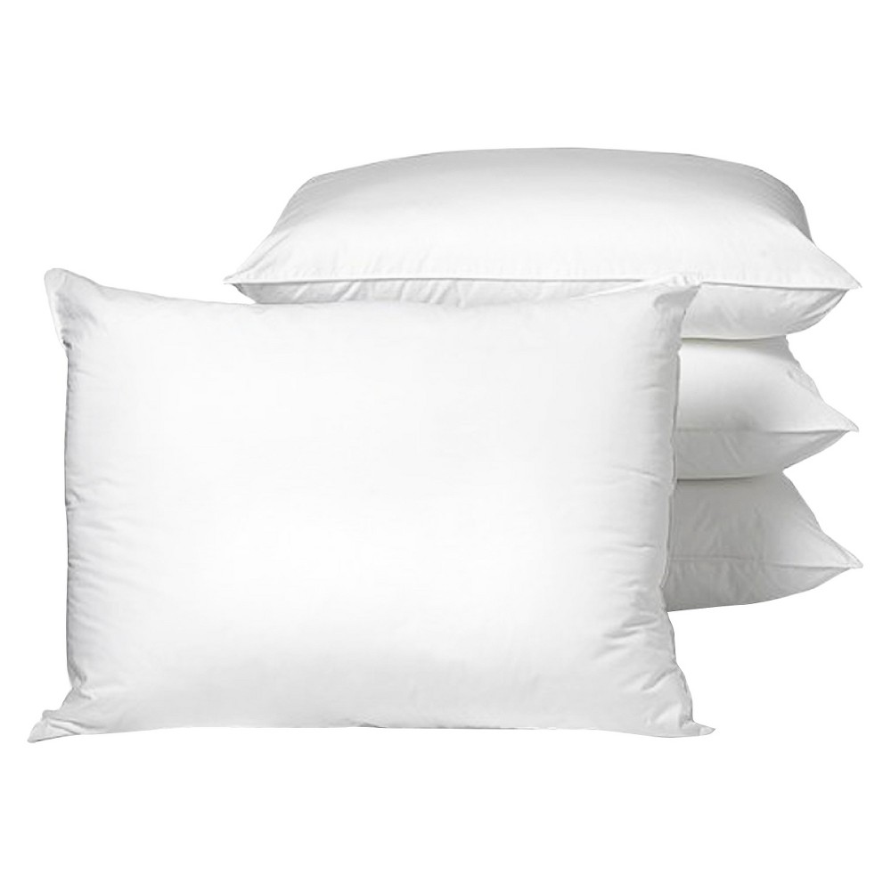 Ultrafresh 4pk Fiber Pillows - White (Standard)