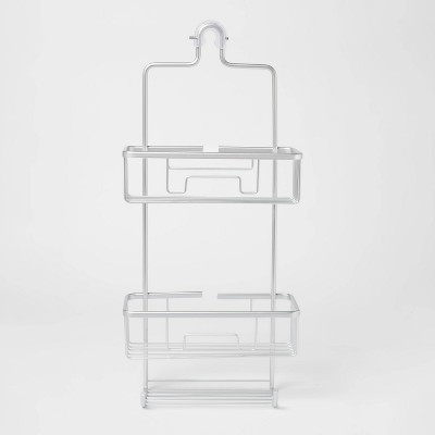 Large Rustproof Shower Caddy With Lock Top Gray - Made By Design™