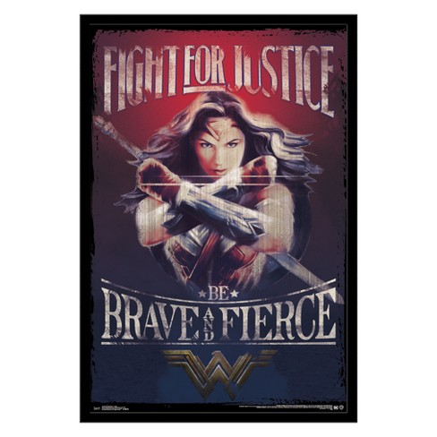 Wonder Woman - Justice Framed Poster Trends International - image 1 of 5
