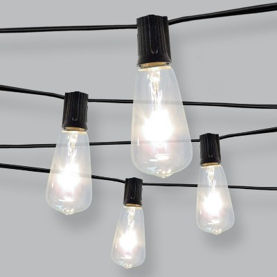 10ct Filament Bulb Outdoor String Lights - Threshold™