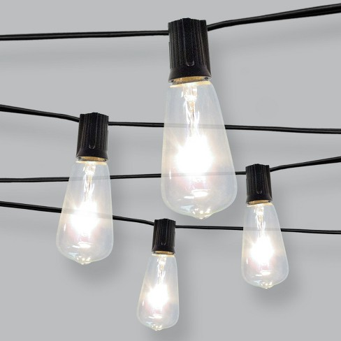10ct Filament Bulb Outdoor String Lights - Threshold™ - image 1 of 2