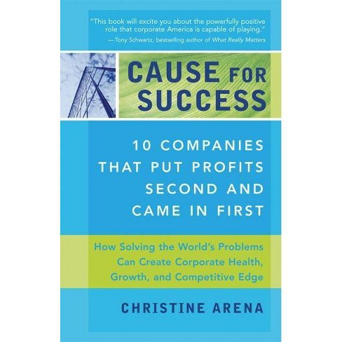 Cause for Success - by  Christine Arena & Michael Banks (Paperback) - image 1 of 1