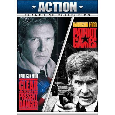 Clear & Present Danger / Patriot Games (DVD)(2011)
