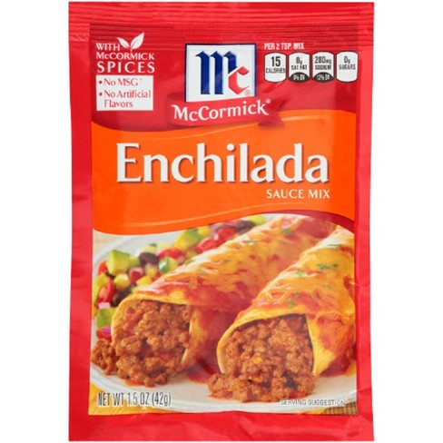 McCormick Enchilada Seasoning Mix 1.06 oz - image 1 of 3