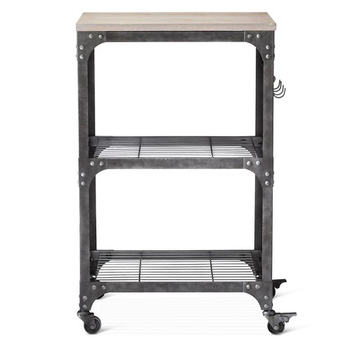 Franklin Microwave, Kitchen Cart - Threshold™ - image 1 of 4