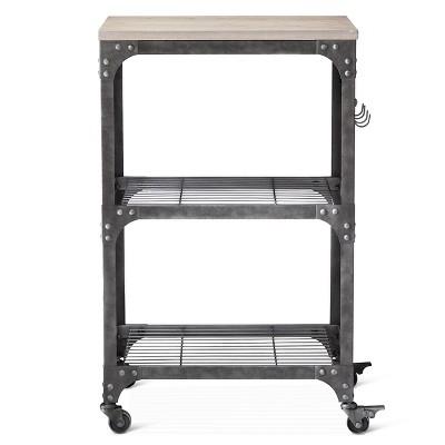 Beau Franklin Microwave, Kitchen Cart   Threshold™