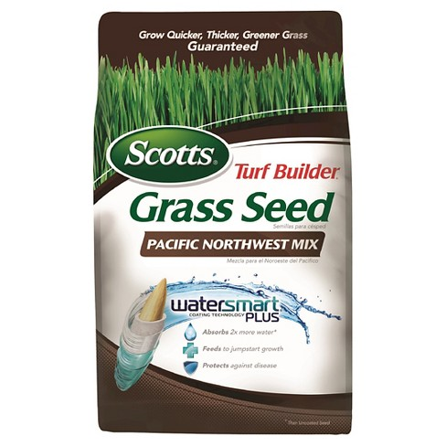3lb Turf Builder Grass Seed Pacific Northwest Mix - Scotts - image 1 of 3