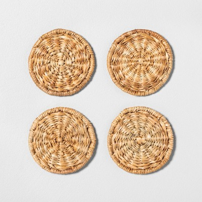 4pk Woven Coaster Set - Hearth & Hand™ with Magnolia