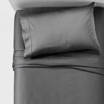 Performance Sheet Set (King)Dark Gray 400 Thread Count - Threshold™