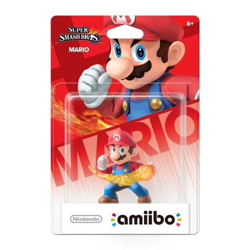 Nintendo Super Smash Bros. amiibo Figure - Mario - image 1 of 2