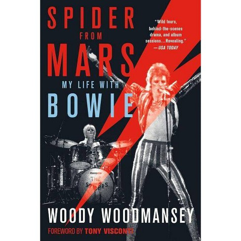 Spider from Mars - by  Woody Woodmansey (Paperback) - image 1 of 1