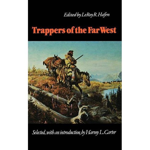 Trappers of the Far West - (Bison Book) (Paperback) - image 1 of 1