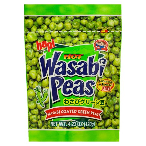 Hapi Hot Wasabi Peas 4.23 oz - image 1 of 3