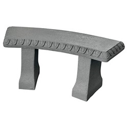 "Emsco 34"" Resin Garden Bench Statuary"