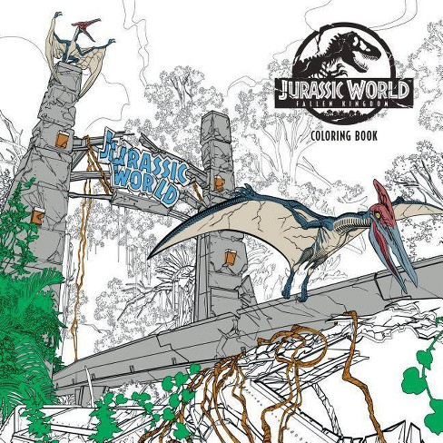 Jurassic World Dinosaur Coloring Page | | 488x488
