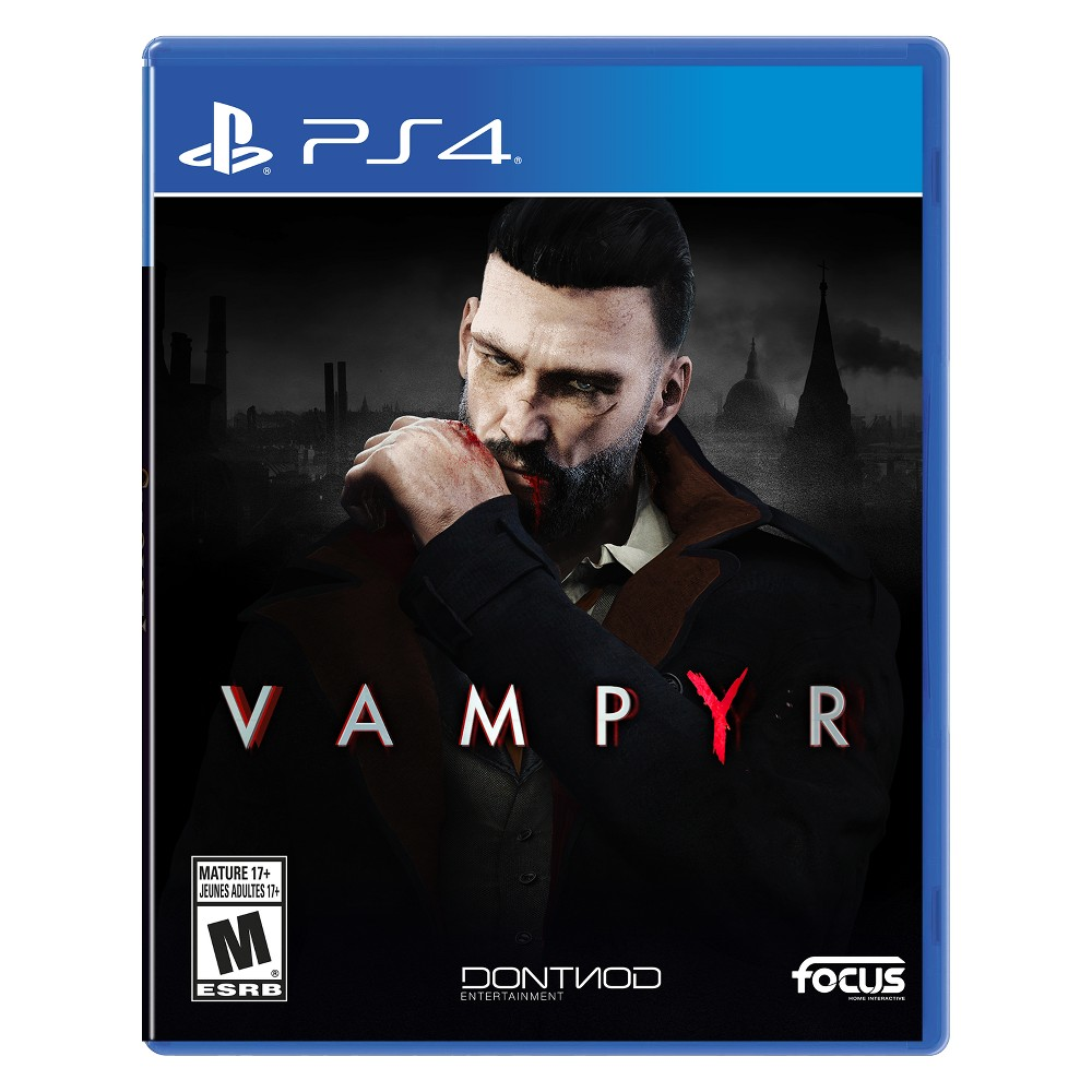 Vampyr - PlayStation 4, Video Games