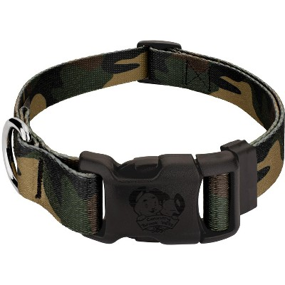 Country Brook Petz® Woodland Camo Deluxe Dog Collar - Made in The U.S.A.