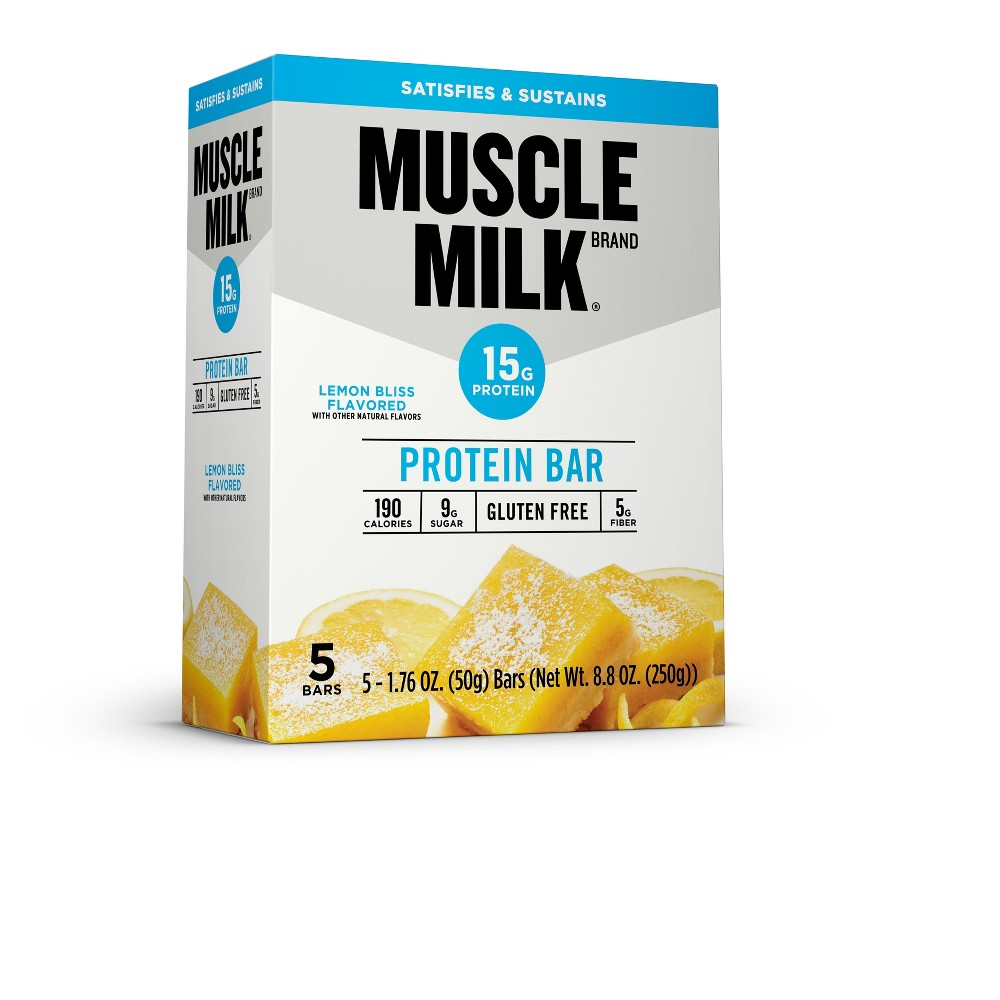 Muscle Milk Protein Bar - Lemon Bliss - 5ct