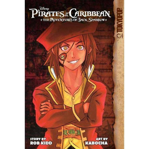 Disney Manga: Pirates of the Caribbean - Jack Sparrow's Adventures - by  Rob Kidd (Paperback) - image 1 of 1