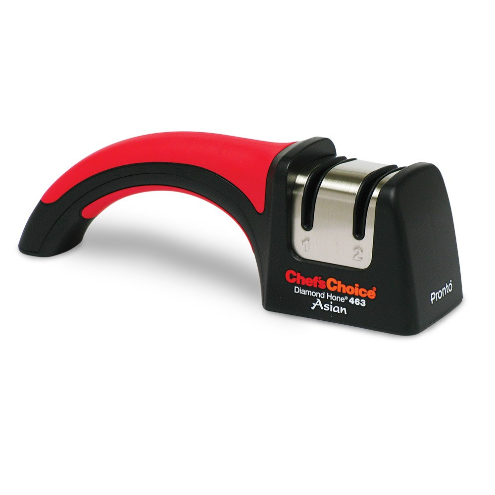 Chef's Choice Manual Sharpener Red