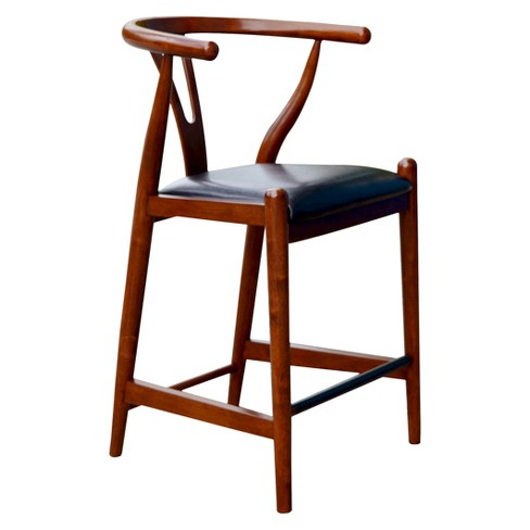 "Wishbone Dining 24"" Counter Stool Hardwood/Cherry - Boraam - image 1 of 2"