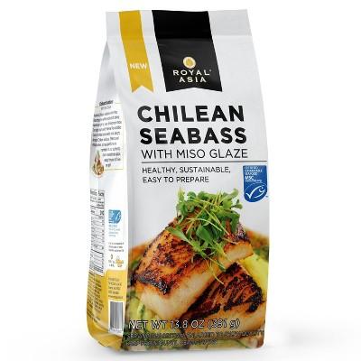 Royal Asia Chilean Sea Bass with Miso Glaze - Frozen - 13.8oz