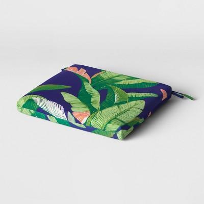 Outdoor Seat Cushion DuraSeason Fabric™ Banana Leaf - Threshold™