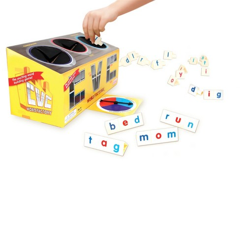 Junior Learning® CVC Word Factory Word Building Game - image 1 of 1