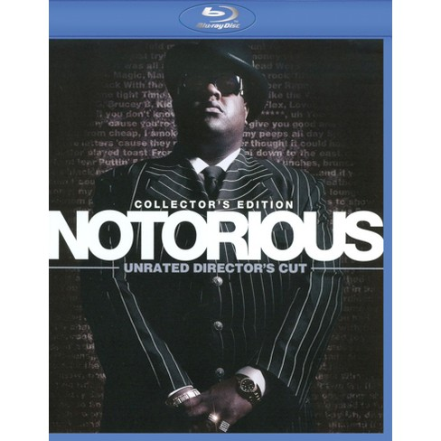 Notorious (Collector's Edition) (Unrated Director's Cut) (2 Discs) (Incl   Digital Copy) (Blu-ray)