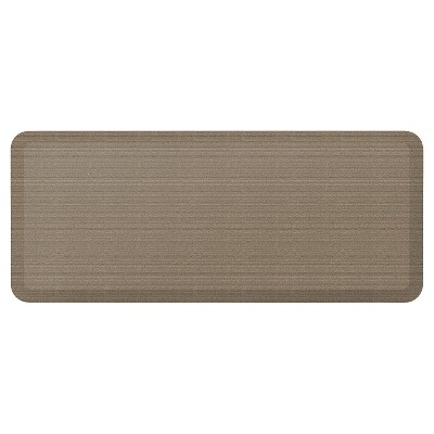 Newlife By Gelpro Designer Comfort Kitchen Mat - Grasscloth Pecan - 20X48