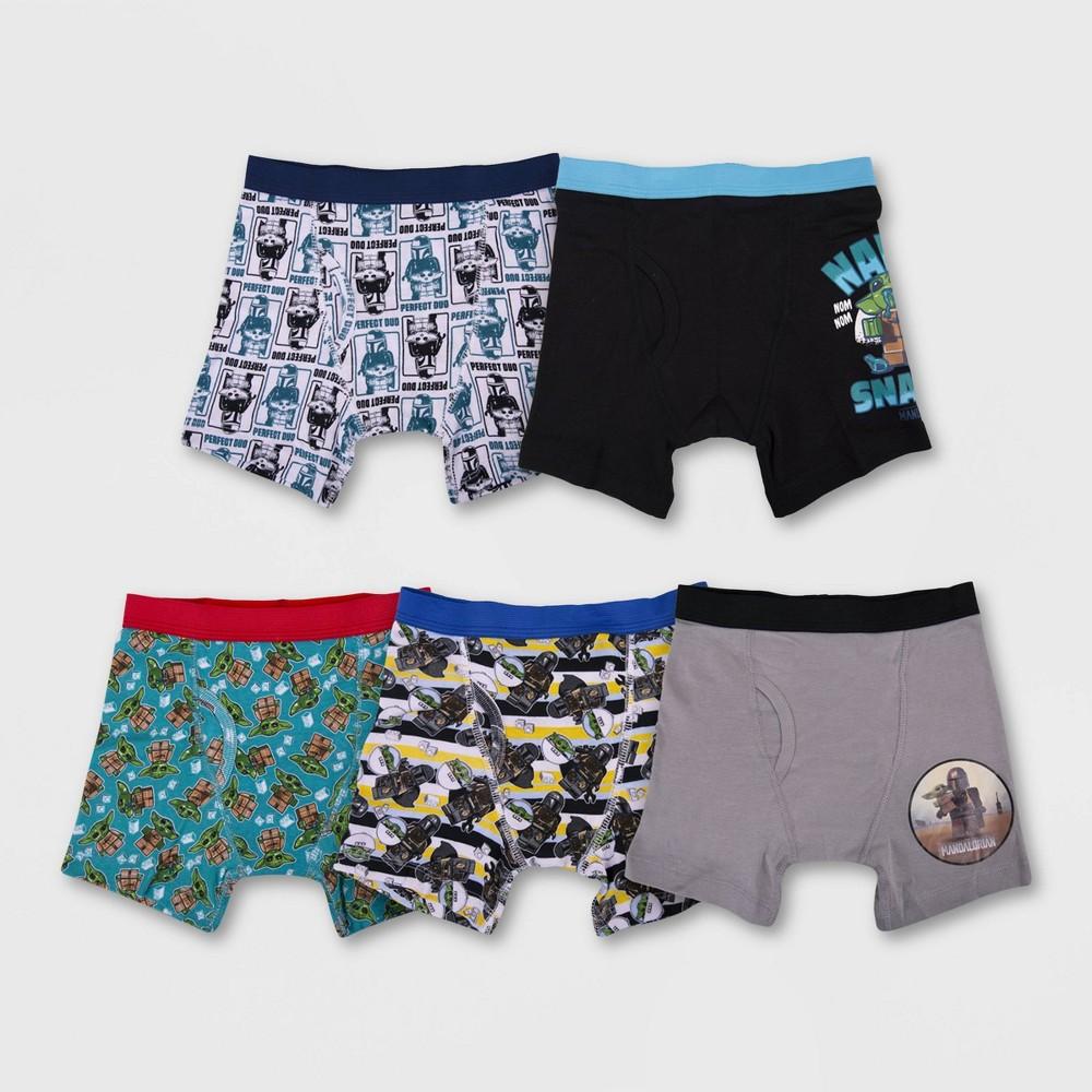Boys 39 Star Wars Lego 5pk Underwear 6